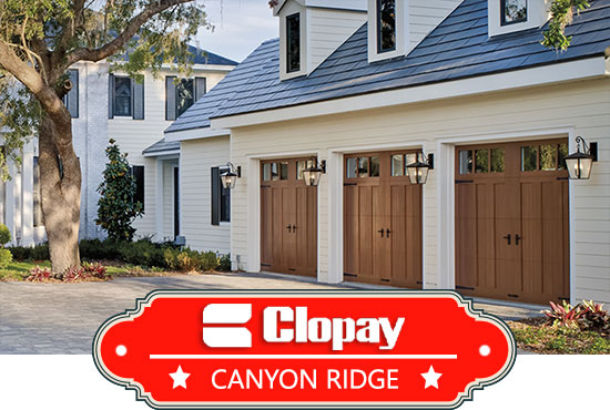 St louis canyon ridge garage doors canyon ridge series for Cost to build a garage st louis