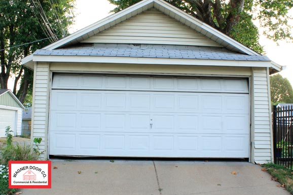 St louis garage door track repair garage door track for Cost to build a garage st louis